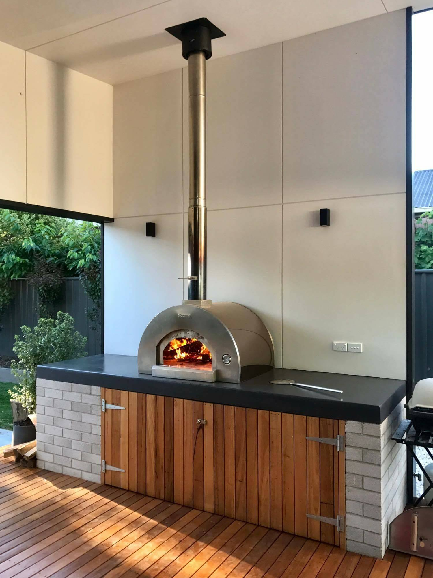 Sapore Wood Ovens | SAPORE GRANDE Wood Fired Oven