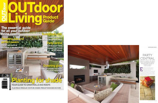 Sapore wood ovens sapore grande is featured in the for Outdoor living magazine